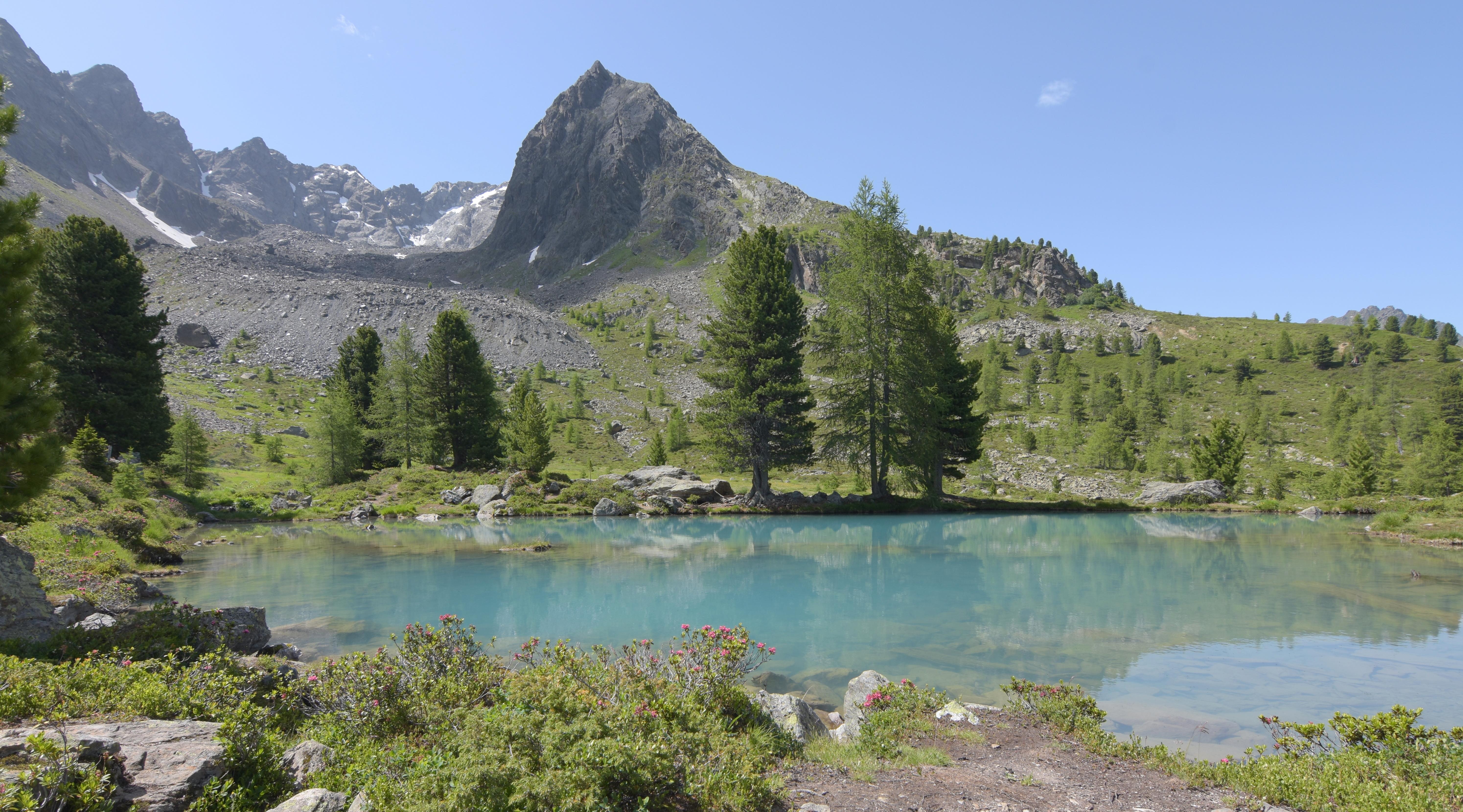 Bergli See m.Blick auf Gletscherblock