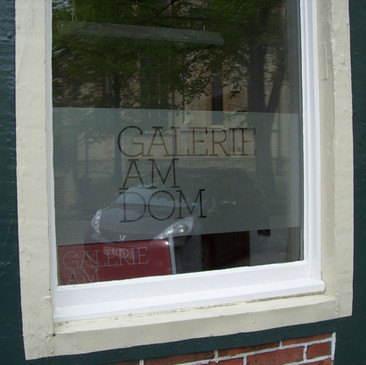 Glasdekor-Folienbeklebung, Galerie am Do