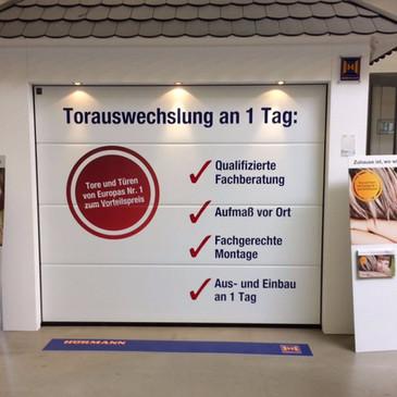 Folienbeklebung, Bauen+Wohnen, Coesfeld