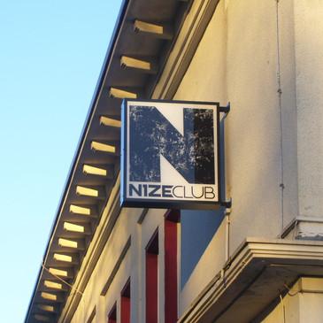 Transparentausleger, NizeClub, Osnabrück