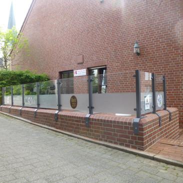 Windschutzanlage, Markt 23, Saerbeck - K