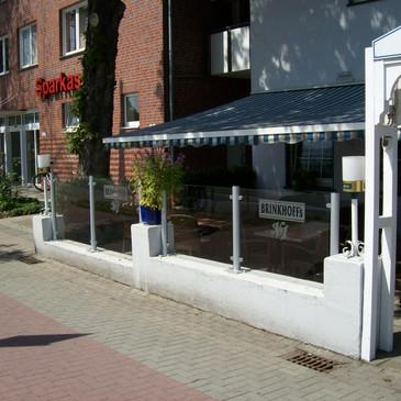 Windschutzanlage, Restaurant Zorbas, Ibb