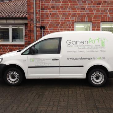 Fahrzeugbeklebung, GartenArt, Billerbeck