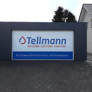 Digitaldruck-Beklebung, Tellmann, Darfel