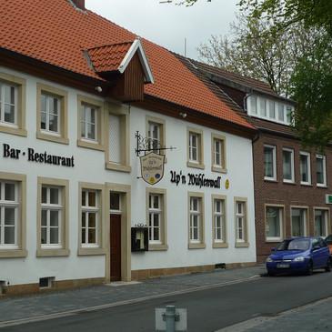 PVC-Schriftzug, Upn Mühlenwall, Schöppin