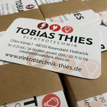 Visitenkarten, Tobias Thies Elektrotechn