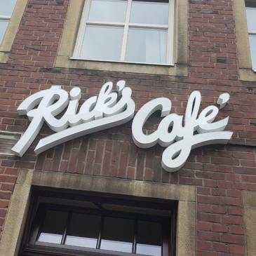 LED-Schrift Profil 5, Ricks Café, Münste