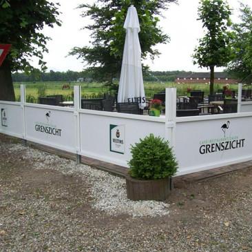 Windschutzanlage, Restaurant Grenszicht,