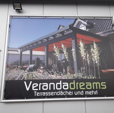 PVC-Banner, Verandadreams, Billerbeck.jp
