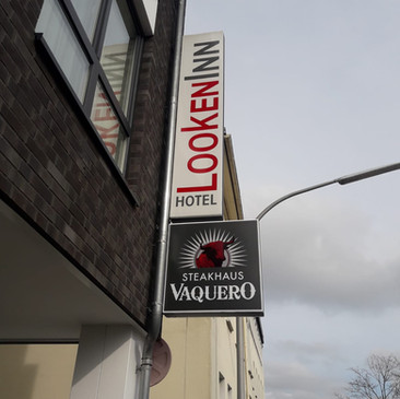 Transparentausleger, Hotel LookenInn, Li