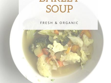 Barley Soup X Cauliflower X Veggies