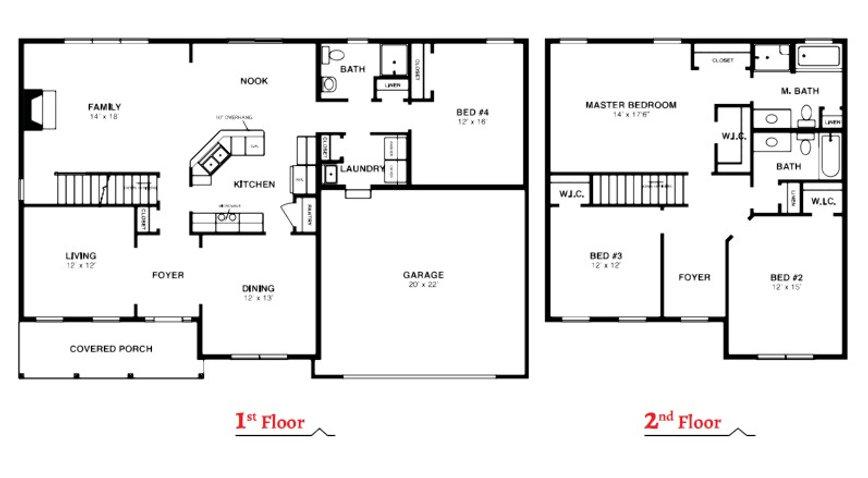 The Hickory Floorplan