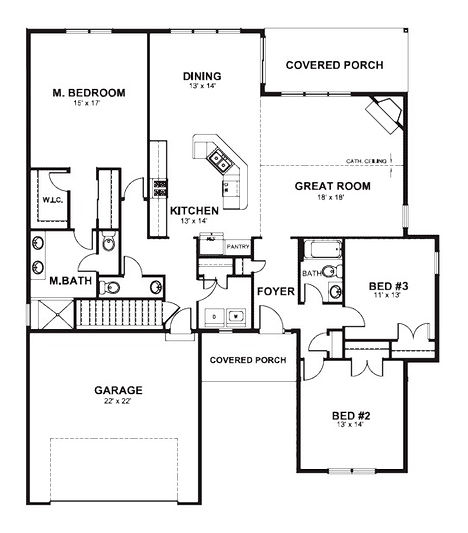 The Benet Floorplan