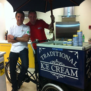 Navy Ice Cream Bike Corporate Hire Meath