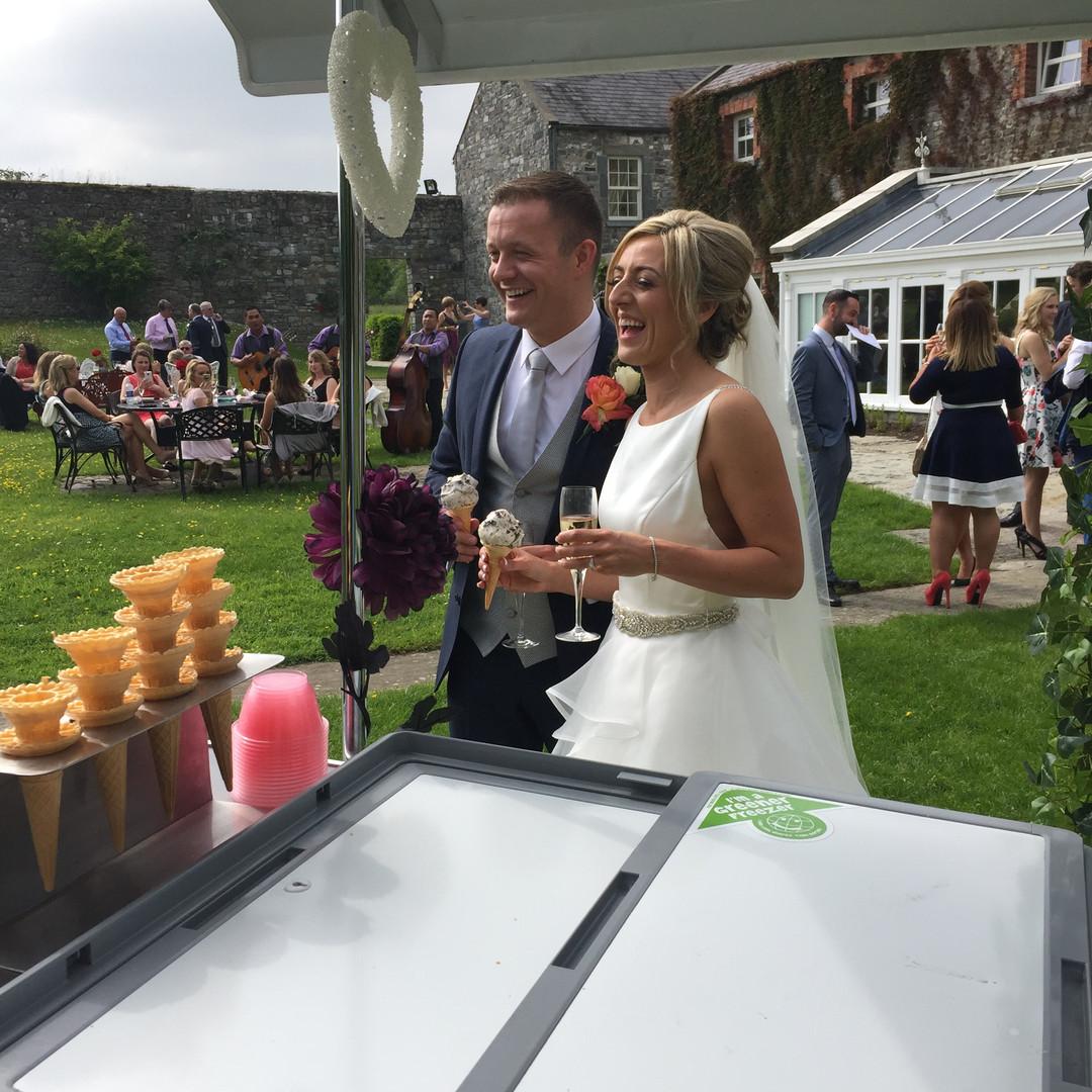 Ice Cream Trike Wedding Couple.JPG