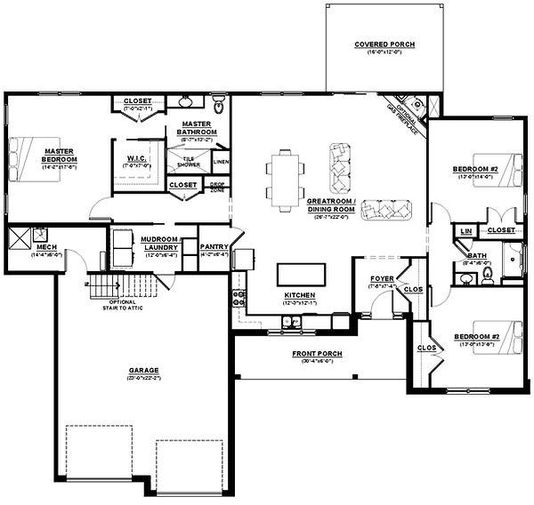 The Casey Floorplan