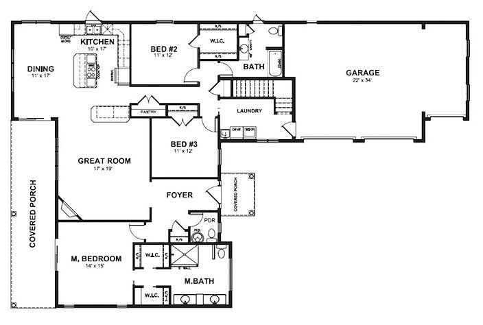The Sherwood Floorplan