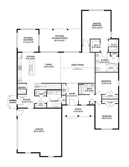 The Amanda Floorplan