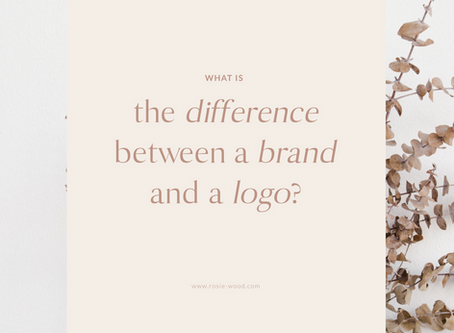 What's the difference between a brand and a logo?