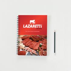 Caderno Brinde Lazaretti Carnes