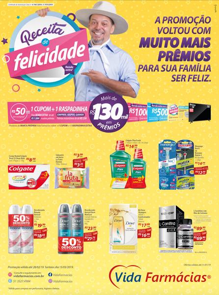 Anúncio Promoção com produtos