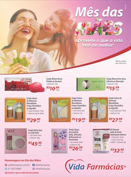 Anúncio Dia das Mães