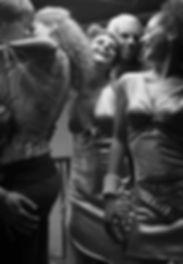 Dance Party B&W