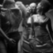 Dance Party B & W