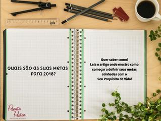 E VOCÊ VAI CONSEGUIR FAZER TUDO QUE PROMETEU EM 2018?