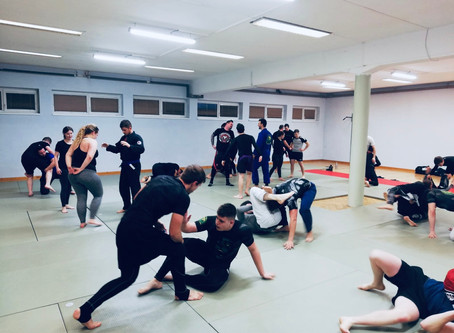 Start des Brazilian Jiu Jitsu Grundkurses