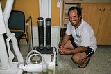 Michael Martinez-Colon, foraminifera, forams, foram, geology, micropaleontology, FAMU, environmental, rhizones, porewater, core