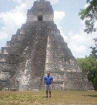 Michael Martinez-Colon, pyramids, tikal, FAMU