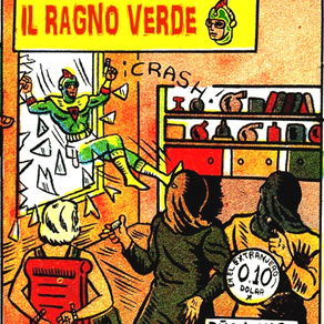 Il Ragno Verde 02: Lo Scienziato Pazzo