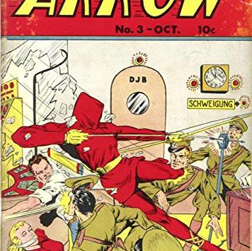 The Arrow - Il primo Supereroe con l'Arco a fumetti