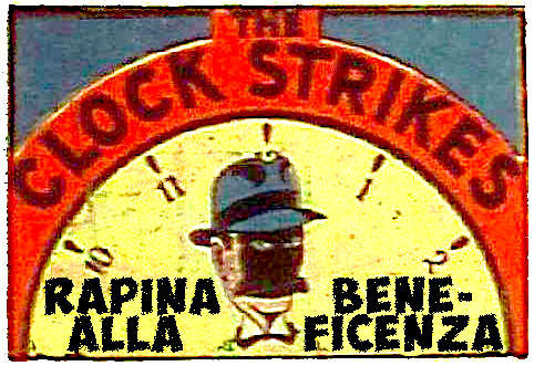 The Clock Strikes #012 - Rapina alla Benificenza