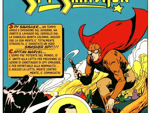 Spy Smasher 17: Faccia a Faccia con Capitan Marvel.