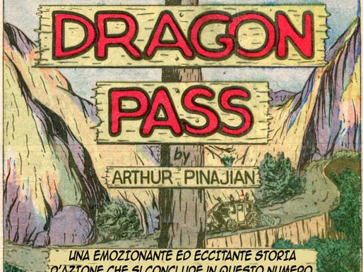 """Il Fantasma delle Colline - """"Dragon Pass"""""""