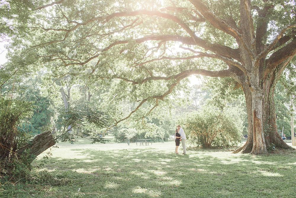 Maternity Session at Joseph Bryant Park| Sami & Scott| Sarah Duke Photography