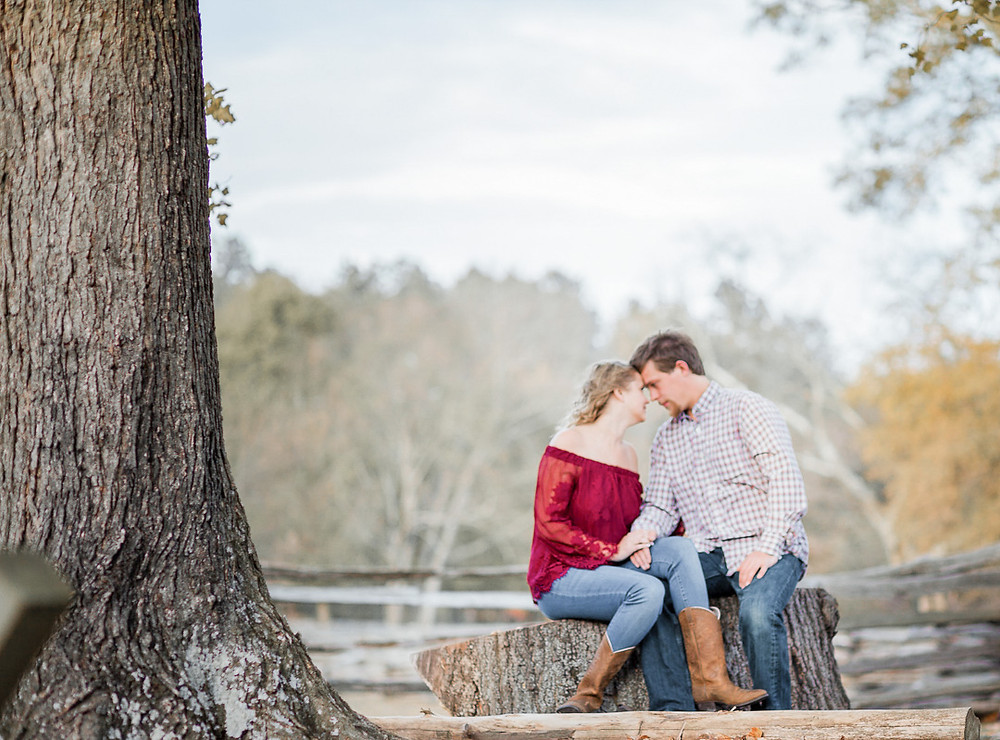 Photo By: Sarah Duke Photography | Sarah Duke | Sarah Duke Photo | Gardens | Rustic Fall Engagement Session at Meadow Farm Crump Park in Glen Allen Virginia | Sarah Duke Photo: Published wedding and portrait photographer in Mechanicsville Virginia