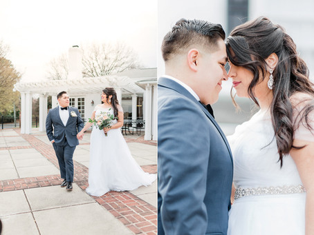 Belmont Park, Golf Course Wedding in Henrico Virginia | Claudia & Sam | Sarah Duke Photography