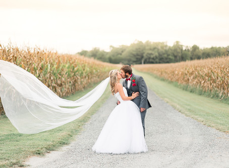 A Paynefield Farm Wedding   Erwin Wedding   Brittany & Nick   Sarah Duke Photography