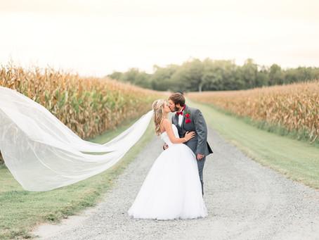A Paynefield Farm Wedding | Erwin Wedding | Brittany & Nick | Sarah Duke Photography