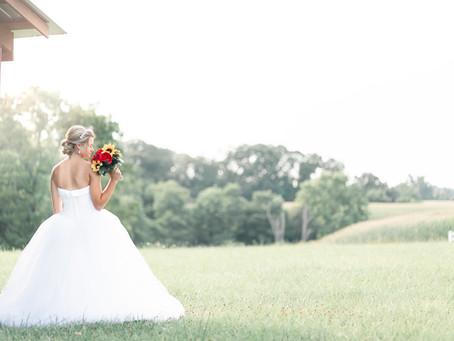 A Paynefield Farm Bridal Session | Brittany | Sarah Duke Photography