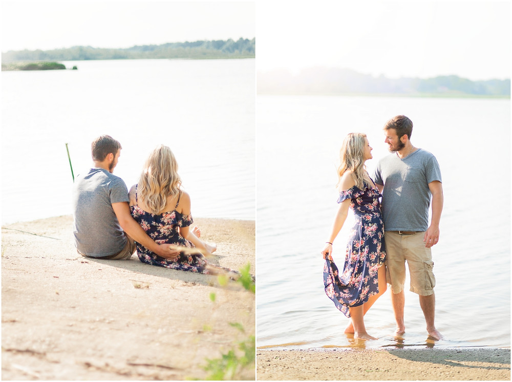 Photo By: Sarah Duke Photography | Published Virginia Wedding & Portrait Photographer | Nick & Brittany | Wheat Field Engagement Session in King William Virginia