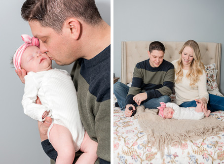 Kara + Paul Family Lifestyle Portrait Session in Mechanicsville Virginia by Sarah Duke Photography