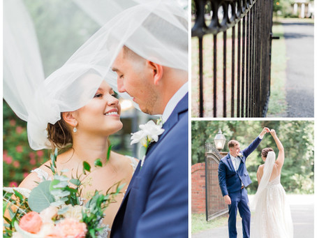 The Virginia Cliffe Inn Wedding | Allie & Brandon | Sarah Duke Photography | Glen Allen Virginia