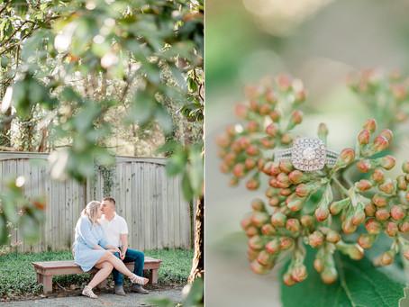 A Walkerton Tavern Engagement in GlenAllen Virginia| Hannah & Lenny| Sarah Duke Photography