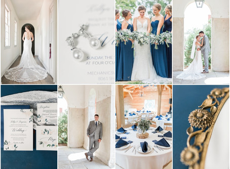 Classic Fall Wedding at Hanover Tavern in Virginia | Ben & Kellyn | Sarah Duke Photography