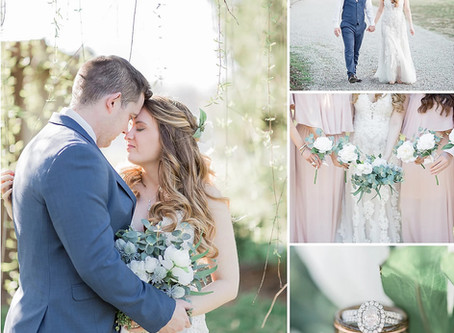 A Romantic St. Patrick's Day Wedding at Amber Grove inVirginia Kelly &Austin  Sarah Duke Photography