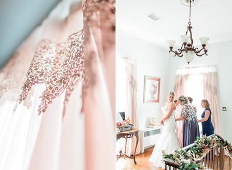 Fall Wedding at Dellwood Plantation Wedding | Lenny & Hannah | Sarah Duke Photography | Virginia